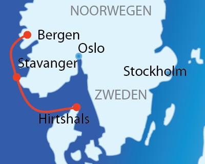 Aanbieding noorse fjorden